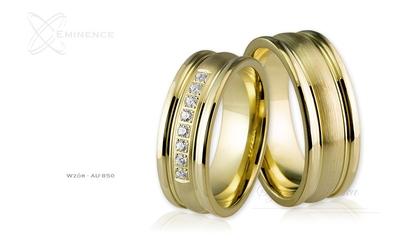 Obrączki ślubne - wzór au-850