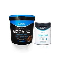Evolite isogainz - 4000g + creatine monohydrate - 500g gratis