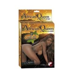 Lalka dmuchana murzynka african queen