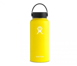 Termos hydro flask wide mouth 946 ml żółty-lemon vsco