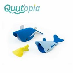 QUUT Zestaw puzzli piankowych 3D Quutopia Wieloryby