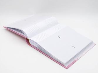 Album zdjecia wózek 10 x15 prezent chrzest grawer - różowy