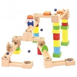 Drewniany kulodrom 40 elementów