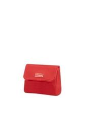 Kosmetyczka damska z klapką samsonite karissa - red