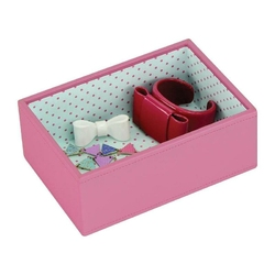 Pudełko na biżuterię open Mini Stackers pink
