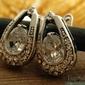 Genewa - srebrne kolczyki z cyrkoniami