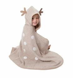 Cuddledry Dziecięcy Bambusowy Ręcznik, Sarenka, Cuddledeer