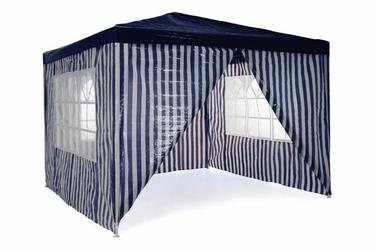 Pawilon namiot imprezowy 3x3m niebiesko biały wodoodporny