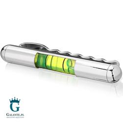 Spinka do krawata SK-9207 Poziomica Zielona
