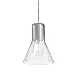 Aqform :: lampa wisząca modern transparentny klosz śr. 16,6 cm