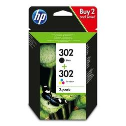 HP originální ink X4D37AE, No. 302, blackcolor, HP