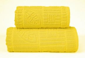 BONITA ŻÓŁTY ręcznik bawełniany GRENO - żółty