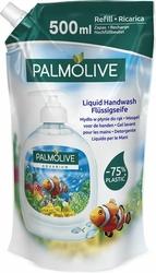 Palmolive, Aquarium, mydło do rąk w płynie, zapas w folii, 500 ml