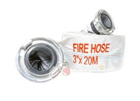 Wąż strażacki do wody 3 cale 75mm 20m gumowany