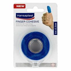 Hansaplast Fingerverb.selbsthaft.2,5 cmx5 m blau