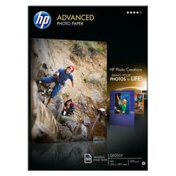 Papier fotograficzny HP Advanced błyszczący — 50 ark.A4210 x 297 mm