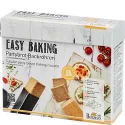 Foremki do pieczenia chlebków party birkmann 3 sztuki 210 189