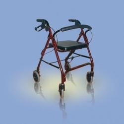 Ca861r - chodzik aluminiowy, czterokołowy