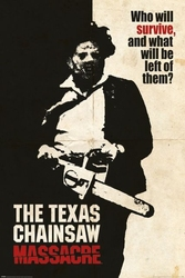 Teksańska masakra piłą mechaniczną - plakat
