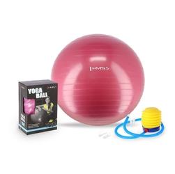 Piłka gimnastyczna yb01 65 cm śliwkowa - hms - śliwkowy