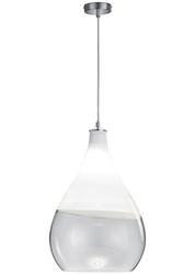 Wisząca lampa szklana w kształcie łezki kingston 35