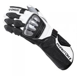 Held phantom ii blackwhite rękawice skórzane