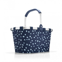 Koszyk na zakupy Reisenthel carrybag spots navy - spots navy