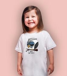 Nietzschulka t-shirt dziecięcy biały 134