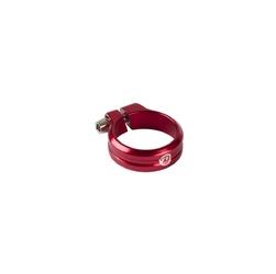 Obejma ze śrubą imbusową execute 31.8mm czerwona anodowana