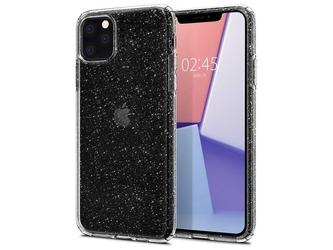 Etui spigen liquid crystal glitter do apple iphone 11 pro max crystal quartz - przezroczysty