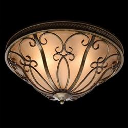 Romantyczna lampa sufitowa z ciemnego szkła chiaro 382015903