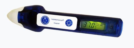 Thermofocus 0800h5 termometr bezdotykowy elektroniczny x 1 sztuka