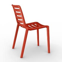 Krzesło slatkat czerwone - czerwony