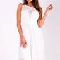 Evalola sukienka biały 51003-5