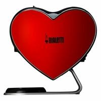 Ekspres na kapsułki BIALETTI CUORE CF80  kształt serca  20 bar  elegancki  oryginalny kształt