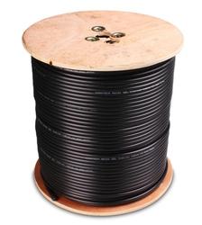 Przewód koncentryczny ns100 żelowany czarny  - szybka dostawa lub możliwość odbioru w 39 miastach