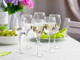 Kieliszki do wina białego altom design diamond 250 ml komplet 6 szt.