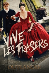 Outlander Vive Les Frasers - plakat