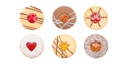 Tescoma foremki do wykrawania ciastek delicia 8 szt.