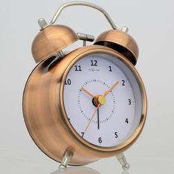 Budzik wake up nextime 9 cm, miedziany 5111 co
