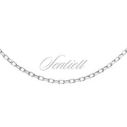 Łańcuszek srebrny 925 rolo diamentowany - bez powłoki  2,0 mm