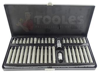Zestaw klucze nasadowe 94el + bity torx 40el yato + płasko-oczkowe 12el