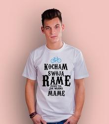 Rama mama t-shirt męski biały xxl
