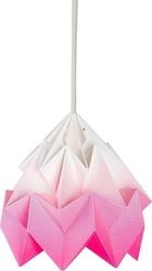 Lampa moth gradient różowa