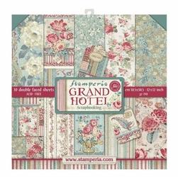 Zestaw papierów 30 x 30 cm GRAND HOTEL