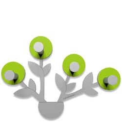 Wieszak ścienny Francine CalleaDesign zielony, aluminium 13-013-76