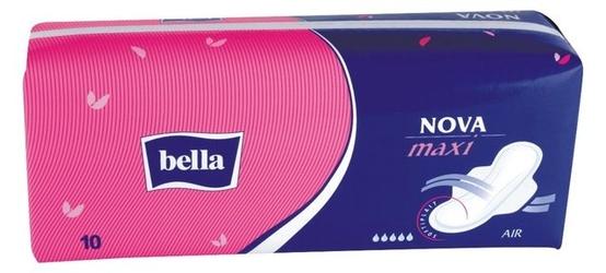 Bella nova maxi, podpaski higieniczne, 10 sztuk