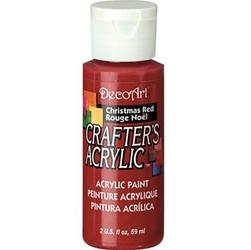 Farba akrylowa Crafters Acrylic 59 ml - czerwona - CZŚ