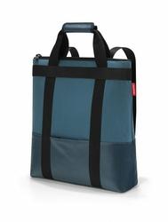 Torbaplecak daypack canvas blue