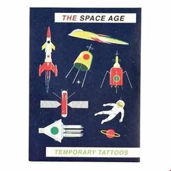 Tatuaże zmywalne dla dzieci, Era Kosmiczna, Rex London - era kosmiczna